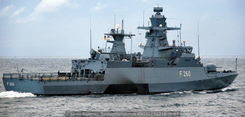 La Marina alemana completa el primer escuadrón de corbetas K-130