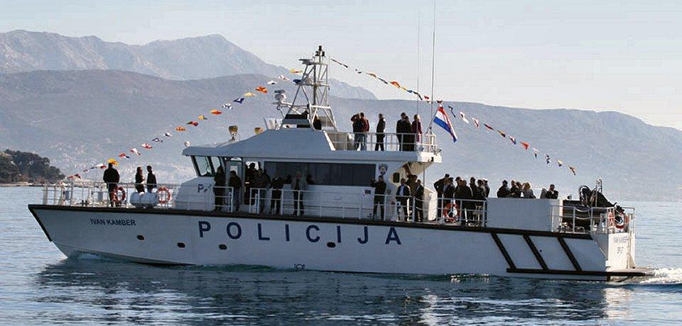 La Policía marítima de Croacia recibe dos lanchas de patrulla
