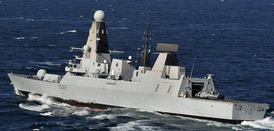 Los destructores Tipo 45 evaluarán la capacidad del radar Sampson en rol BMD